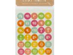 Itsy Bitsy Bright Alphabet Stickers