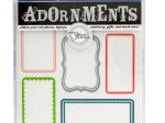 Blank Labels Craft Adornment Stickers