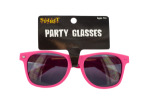Hot Pink Party Sunglasses