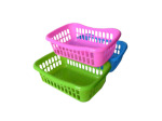 Colorful plastic baskets
