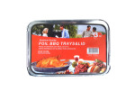 Barbecue tray and lid