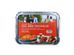 Barbecue tray and lid, 6 pieces