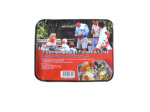 3-compartment foil tray, 3 pack