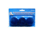 Automatic toilet cleaner tabs, pack of 3