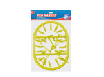 Peg clothes hanger, 20 pegs