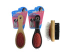 Two-sided pet brush