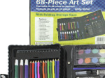 68-piece art set in box