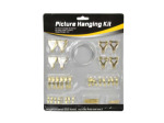 Picture hanging kit, assorted
