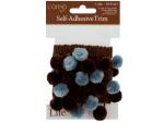 Brown & Blue Self Adhesive Decorative Trim