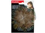 Feather Circle Headband Accent