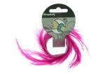 Pink Feather Slap Bracelet