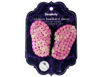 simplicity pink sequin butterfly slide on headband accent